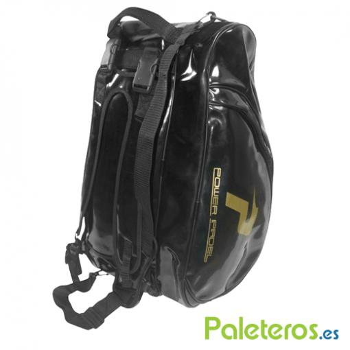 Uso de mochila paletero oro de Power Padel