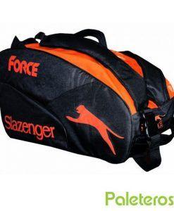 Paletero Slazenger Force negro y naranja