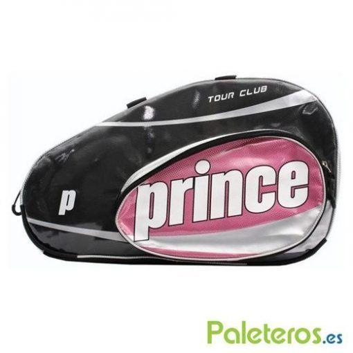 Vista lateral paletero rosa de Prince