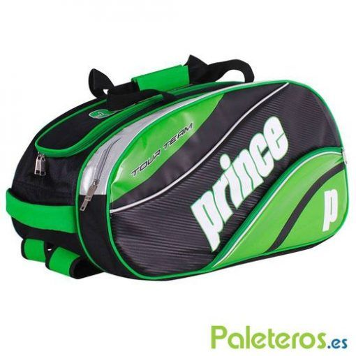 Paletero Prince Tour Team verde y negro de 2016