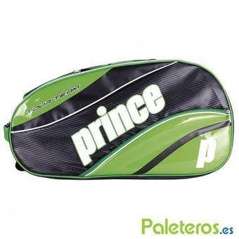 Paletero Prince Tour Team verde y negro