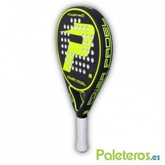 Lateral de la pala Power Padel F8