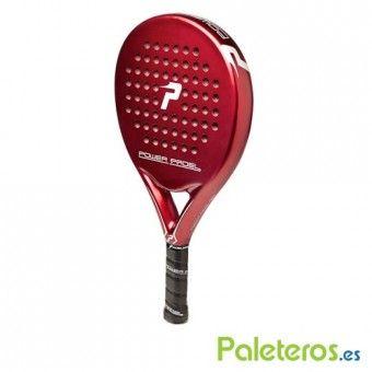 Perfil pala Power Padel Red mate