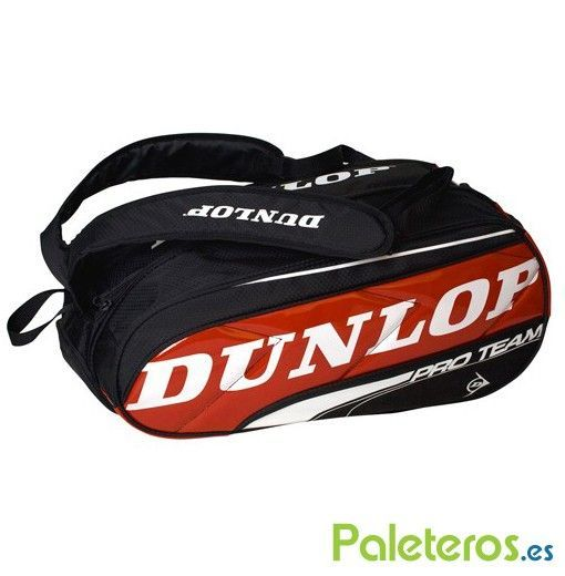 Paletero Dunlop Pro Team rojo