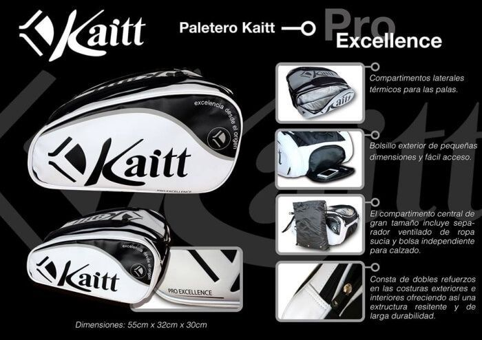 Caracteristicas del paletero Kaitt Pro Excellence