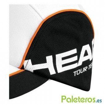 Detalle de la gorra Tour Team Functional de Head