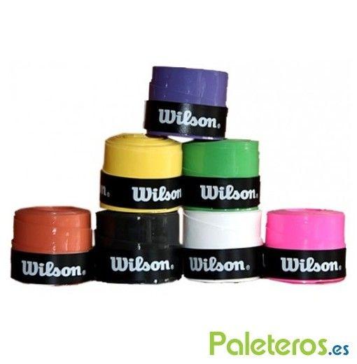 Overgrips Wilson de colores