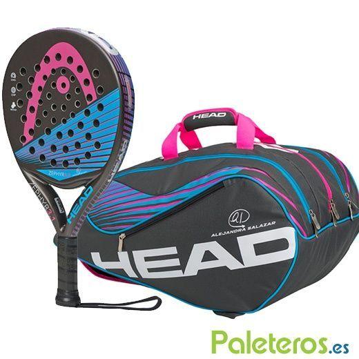 Pala HEAD Zephyr 3.1 N2 y paletero Zephyr Supercombi 2015