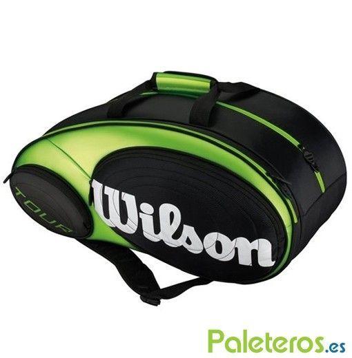 Paletero Wilson Tour Padel Verde