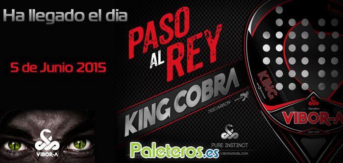 5 de junio 2015 llega la pala King Cobra