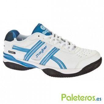 Zapatillas Jhayber Taxon blanca y azul