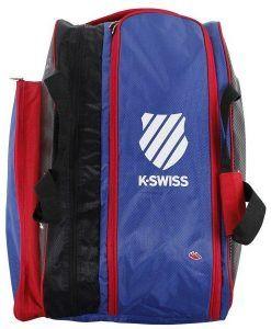 Compartimento para ropa y zapatillas del paletero K-Swiss