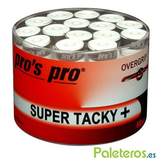 Overgrips Pros Pro blancos lisos