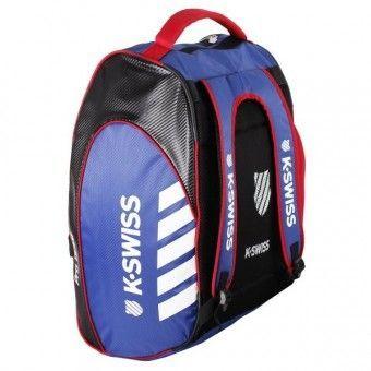 Uso como mochila del paletero K-Swiss