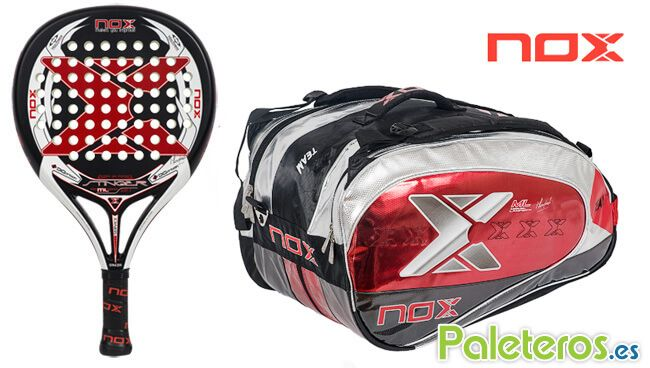 Pack Stinger 2.1 y paletero rojo de Nox