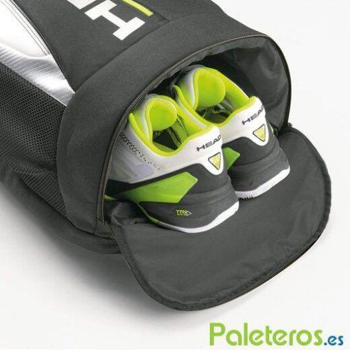Zona para zapatillas de la mochila HEAD Djokovic