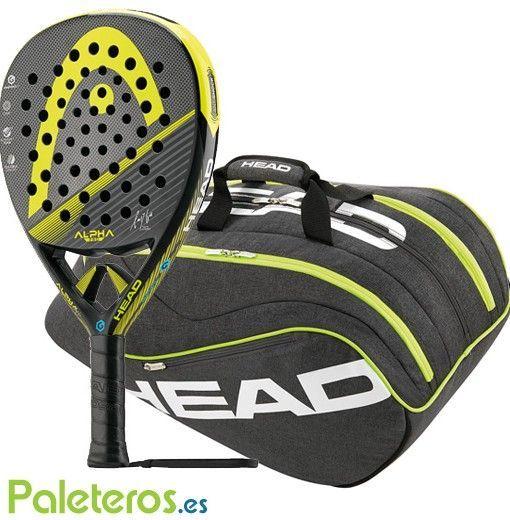Pala Head Alpha Pro + paletero Ultimate Pro Supercombi