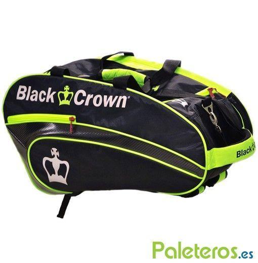 Paletero Black Crown negro y amarillo