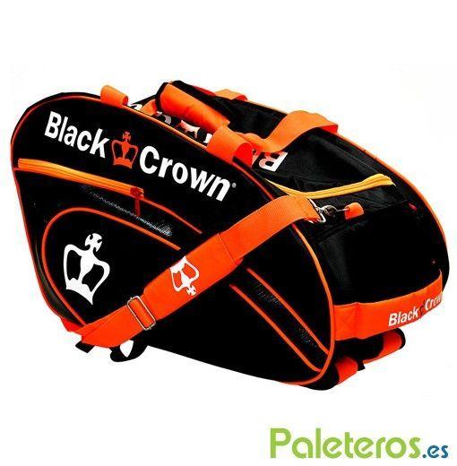 Paletero Black Crown negro y naranja