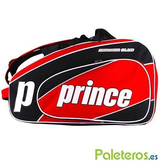 Paletero Prince Warrior Club rojo y negro de 2016