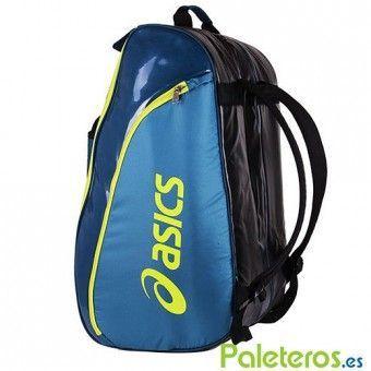 Paletero Asics Padel azul-lima
