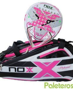 Pala ML10 Women y paletero Nox rosa