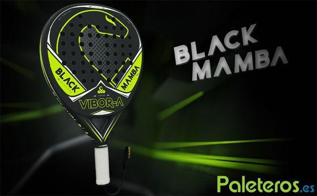 Pala de pádel Black Mamba 2017 de Vibora