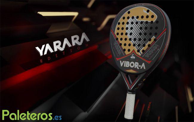 Pala de pádel Yarara Edition 2016 de Vibora