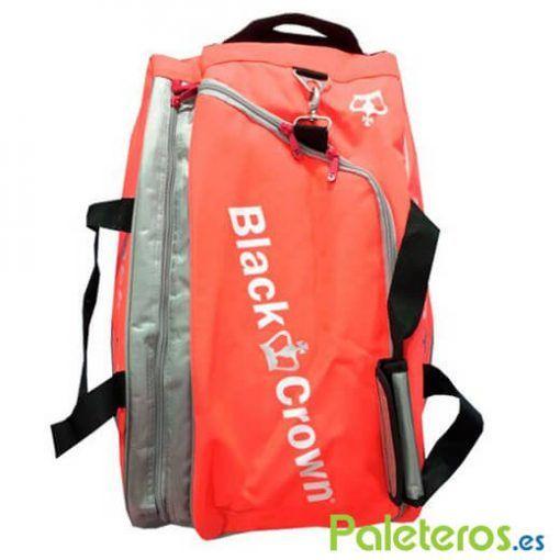 Paletero Black Crown Hot Coral