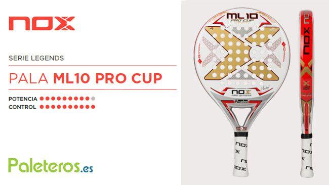 Ficha de la pala ML10 Pro Cup 2018