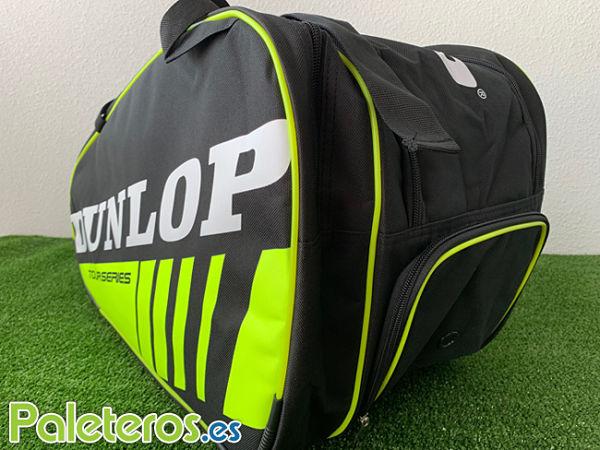 Paletero Dunlop Competition Amarillo Detalle Calzado