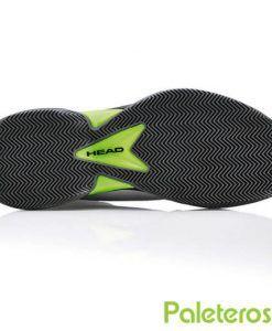 Suela de espiga de las zapatillas Revolt Pro blancas