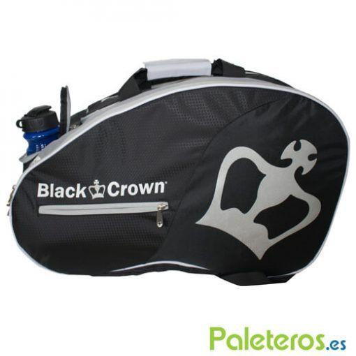 Paletero Black Crown negro-plata
