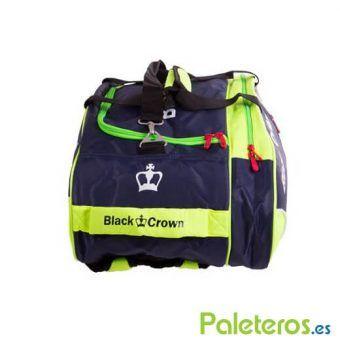 Compartimentos del paletero marino y verde de Black Crown