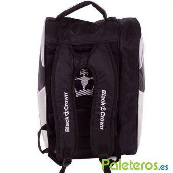 Uso mochila del paletero Black Crown plata