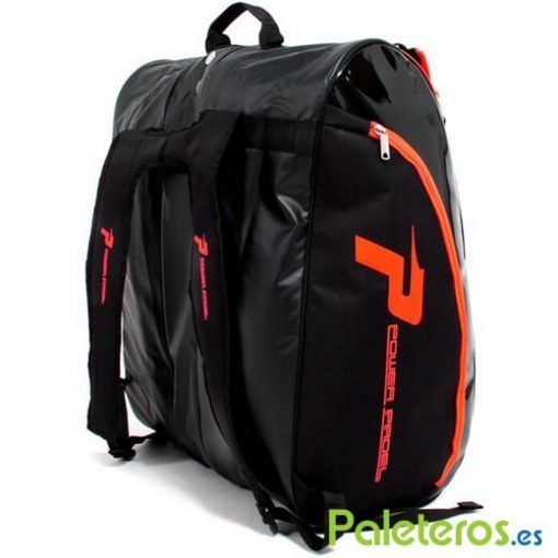 Uso como mochila del paletero Power Padel XXL