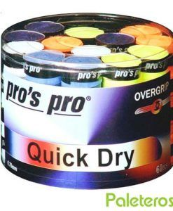 Overgrips Pros Pro de colores Quick Dry