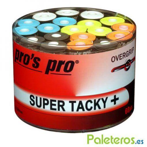 Overgrips Pros Pro de colores Super Tacky plus