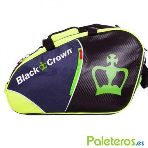 Paletero Black Crown azul, amarillo, verde y negro