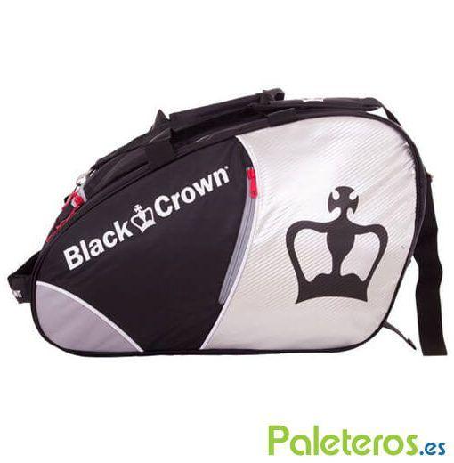 Paletero Black Crown plata y negro
