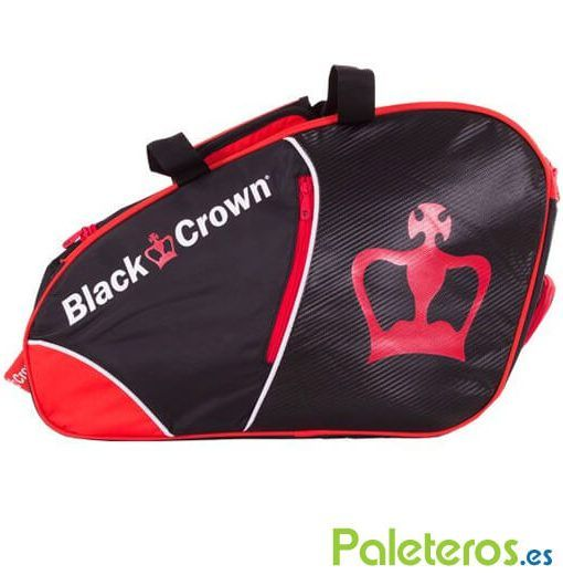 Paletero Black Crown rojo y negro