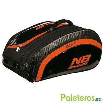 Paletero Enebe KX Compact negro y naranja