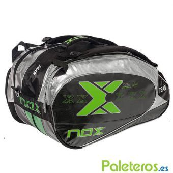 Paletero Nox Team negro y verde