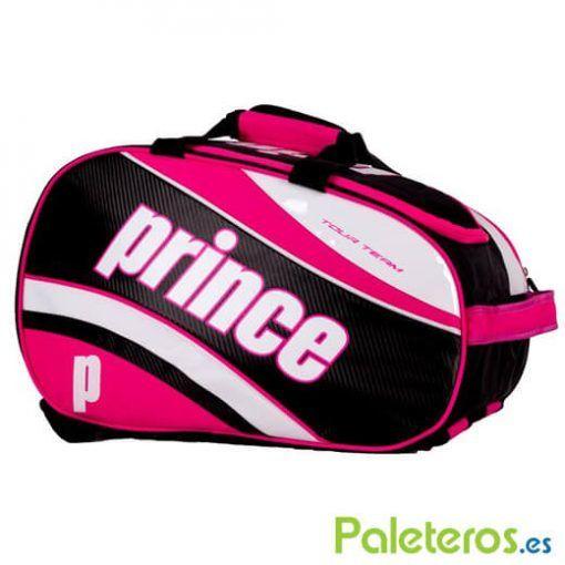 Paletero Prince fucsia y negro