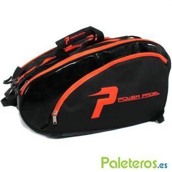 Paletero XXL negro y naranja de Power Padel