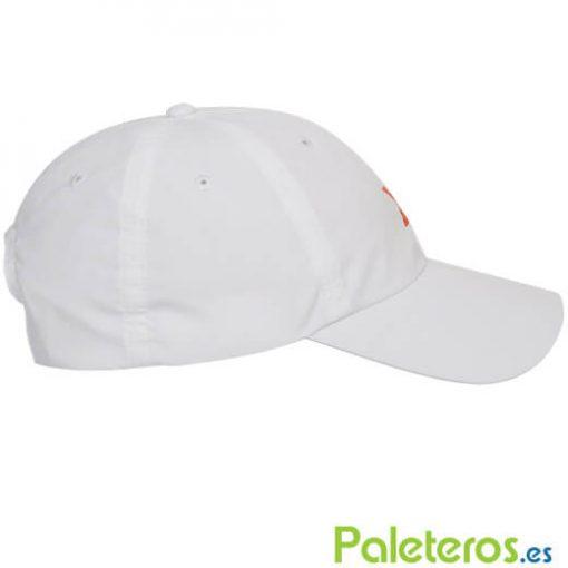 Gorra blanca de NOX