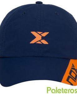 Gorra NOX Azul y Naranja