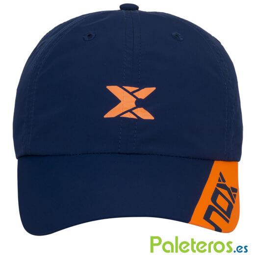 Gorra Técnica Azul y Naranja - Colección NOX 2019 abc060341ef