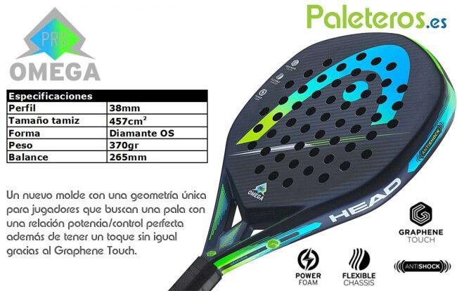 Omega Pro pala HEAD