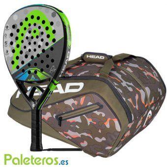 Paletero Camo y pala Alpha Pro de HEAD